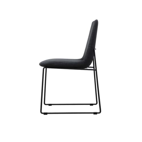 Axel Dining Chair - Lisbon Charcoal Grey 12
