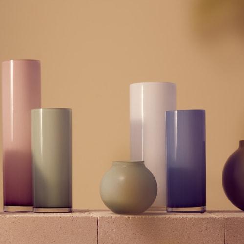 Opal Ball Vase Small - Sage