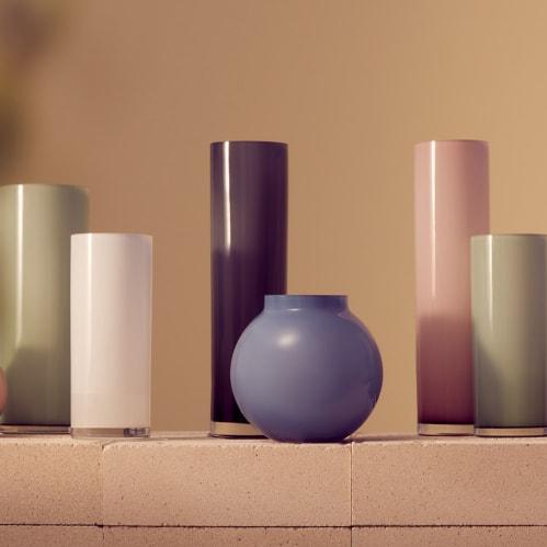 Opal Pillar Vase Extra Large - Ash