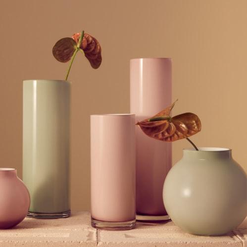 Opal Pillar Vase Extra Large - Floss