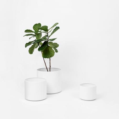 Benny Planter - White