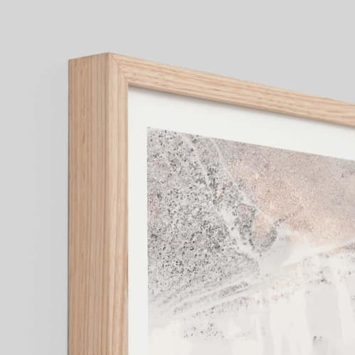 Arid Valley Framed Print