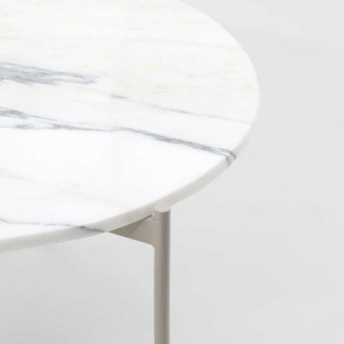 Rhonde Marble Coffee Table - Sand