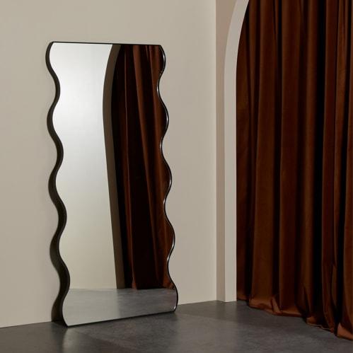 Artemis Leaner Mirror - Black