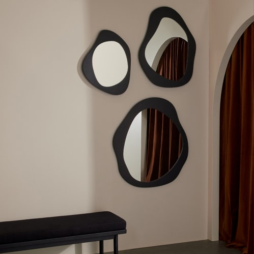 Aura Mirror 50cm X 65cm - Black