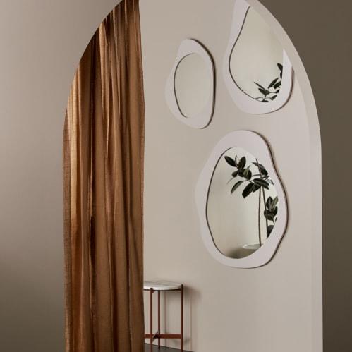 Aura Mirror 50cm X 65cm - Shell