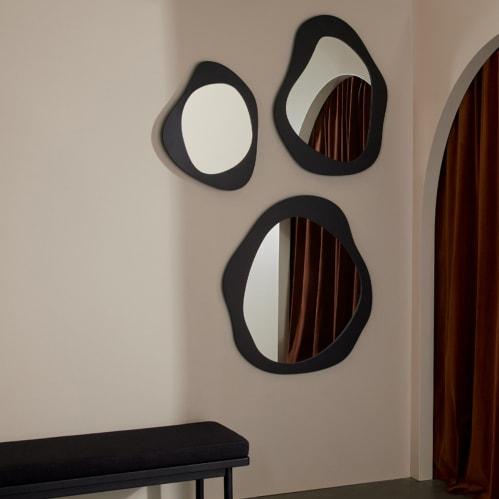Aura Mirror 85cm X 95cm - Black