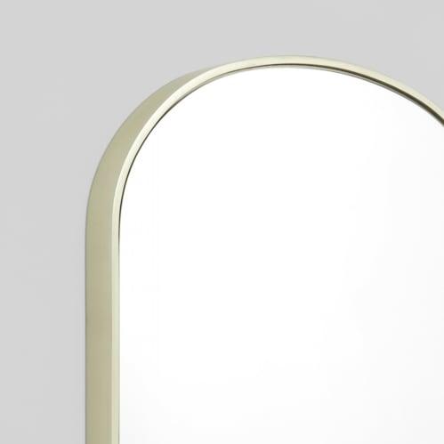 Bella Small Arch Mirror - Silver