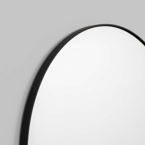 Bjorn Arch Mirror 55cm x 85cm - Black