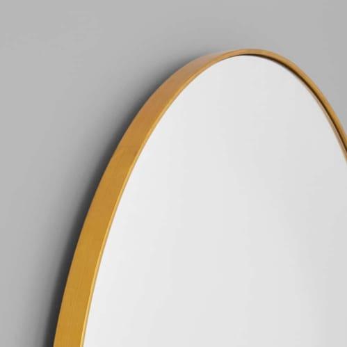 Bjorn Arch Mirror 55cm x 85cm - Brass