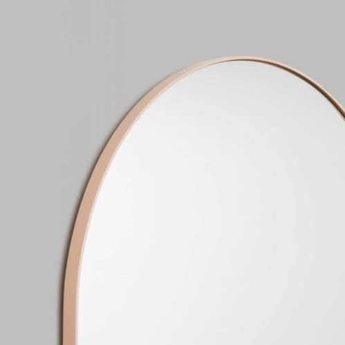 Bjorn Arch Mirror 55cm x 85cm - Powder