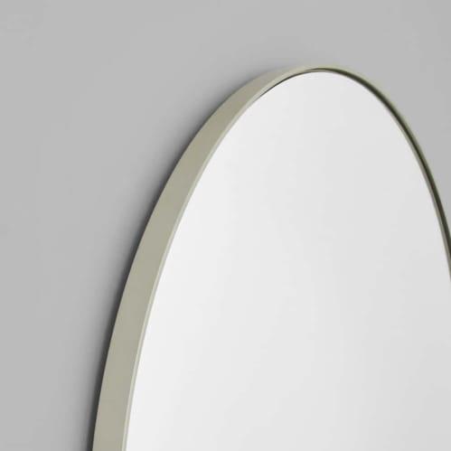 Bjorn Arch Mirror 55cm x 85cm - Silver