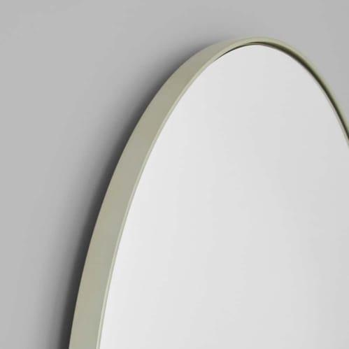 Bjorn Arch Floor Mirror - Silver