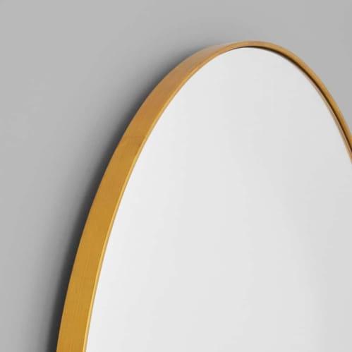 Bjorn Arch Oversized Mirror - Brass