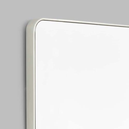 Flynn Curve Leaner Mirror - Silver