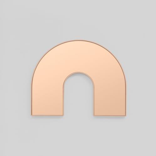 Kaari Arch Mirror - Powder/Dusk