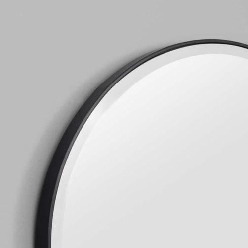 Lolita Oval Mirror - Black