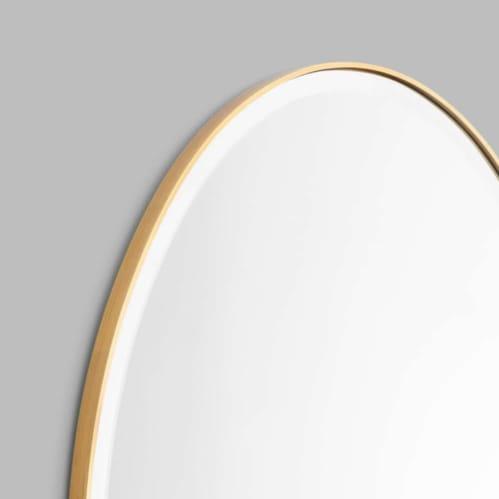 Lolita Oval Mirror - Brass