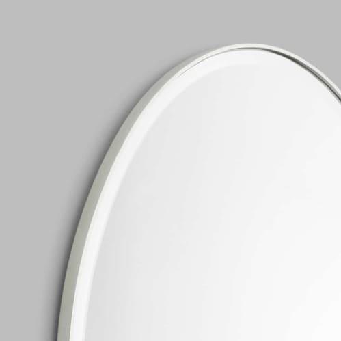 Lolita Oval Mirror - Silver