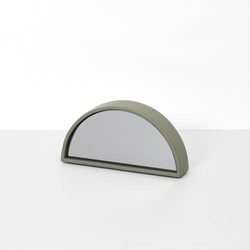 Objekt Mirror Small - Olive