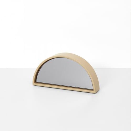 Objekt Mirror Small - Taupe