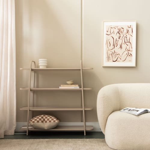 Camber Shelving Unit Large - Warm Beige