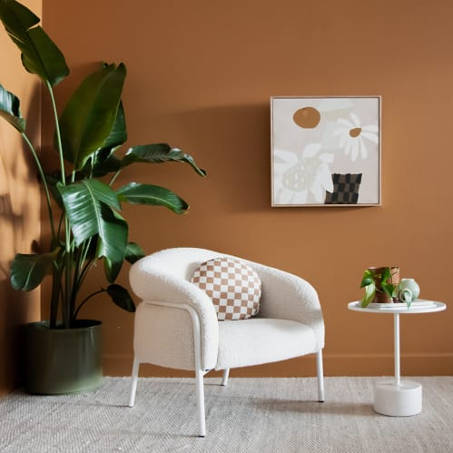Calibre Side Table - White