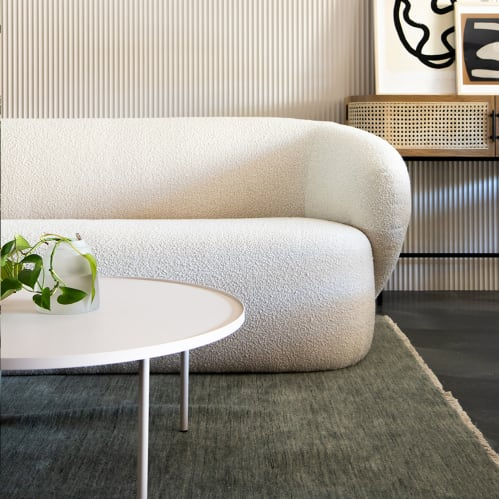 Lap Coffee Table - Warm Beige