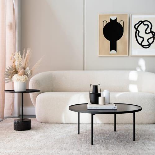 Lap Coffee Table - Black