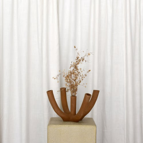 Lea Vase - Terracotta