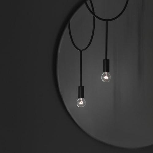 Circle Pendant Light - Dark Grey