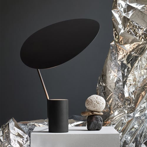 Ombre Table Lamp - Black