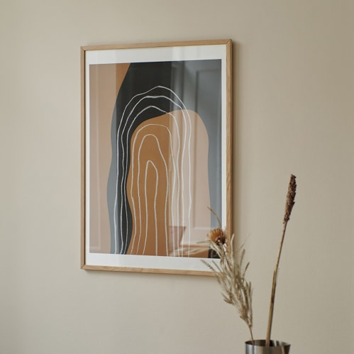 Shapes and Lines No 1 Print