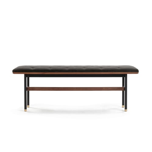 Distinct Bench - Walnut / Black