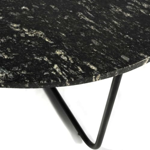 Honour Round Coffee Table - Black Forest Granite