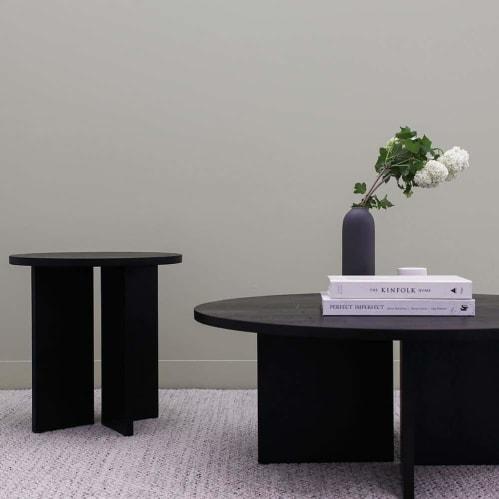 Edge Side Table - Black