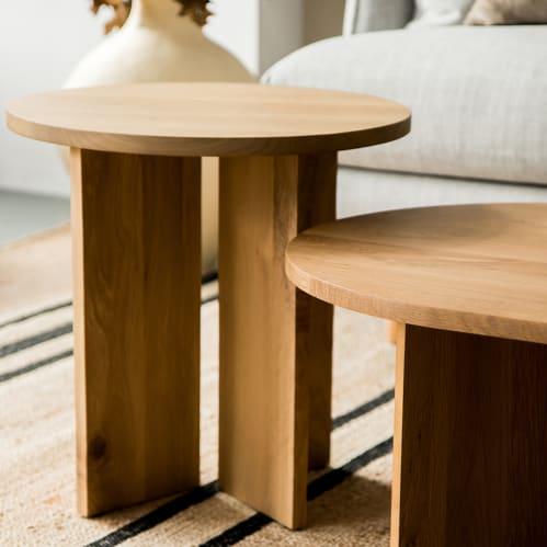 Edge Side Table - Oak