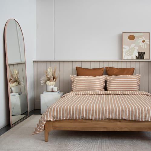 Ambience King Bed Base - Oak