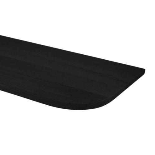 Light Wall Shelf 210cm - Black