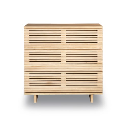 Linear 3 Drawer Chest - Oak