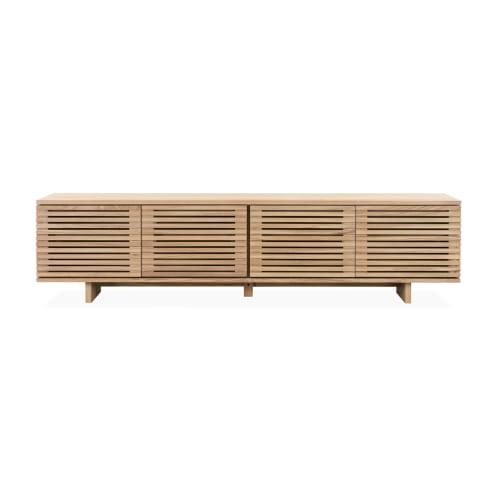 Linear Entertainment Unit 180cm - Oak