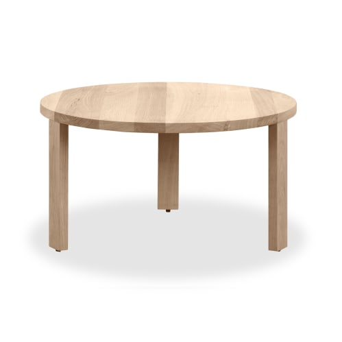 Layer Nesting Coffee Table Small - Whitewash Oak
