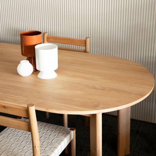 Loop Dining Table - Oak