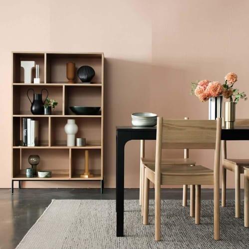 Enhance Open Bookcase Large - Oak