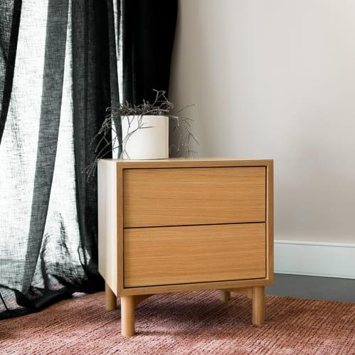 Haven Bedside Table - Oak