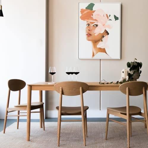 Icon Dining Chair - Oak
