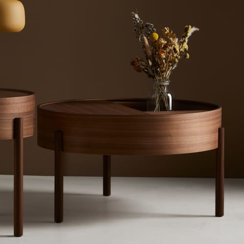 Arc Coffee Table - Walnut