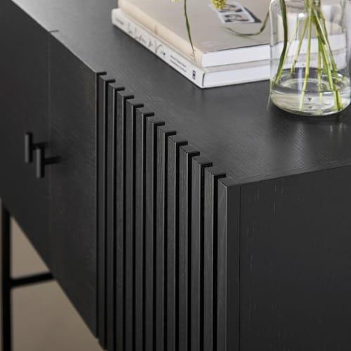 Array Low Sideboard - Black