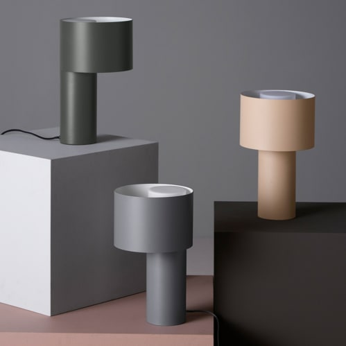 Tangent Table Lamp - Forest Green