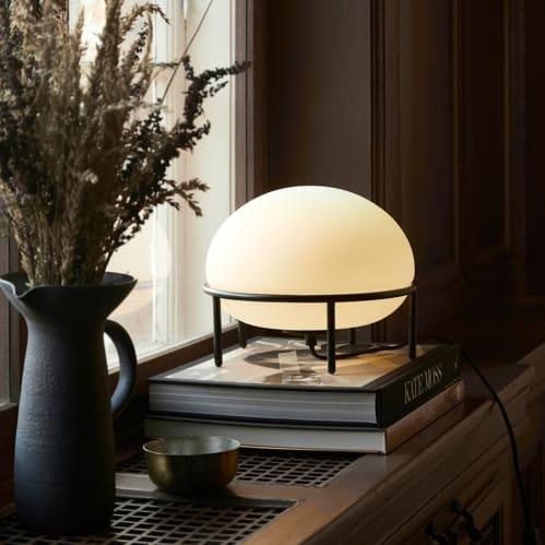 Pump Table Lamp - Black